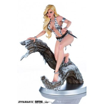 Women of Dynamite Statue 1/6 Sheena (Arctic Variant) by J. Scott Campbell 25 cm