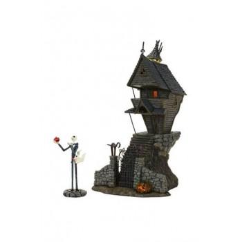 Nightmare Before Christmas Statue Jack Skellington's House 29 cm