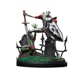 MediEvil Statue Sir Dan Fortesque 24 cm
