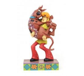 Scooby-Doo Statue Shaggy Holding Scooby-Doo 23 cm