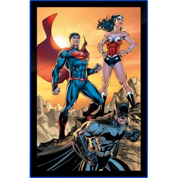 DC Comics Trinity LED Poster Sign