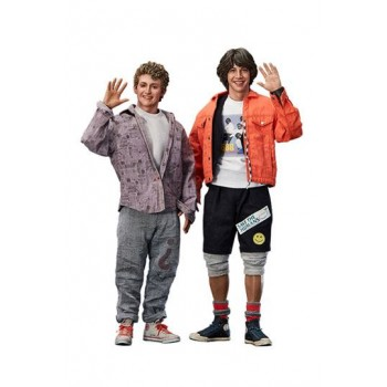 Bill & Ted's Excellent Adventure Action Figure 2-Pack 1/6 Bill & Ted 28-29 cm