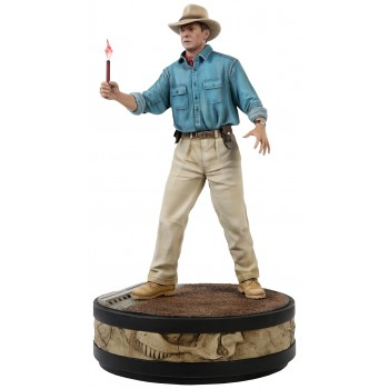 Jurassic Park Alan Grant with Flare 1:4 Scale Statue
