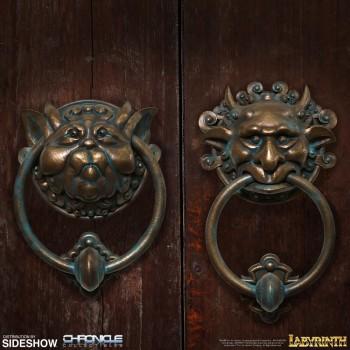Labyrinth Door Knocker Set