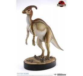 Jurassic Park Parasaurolophus Statue