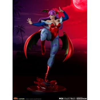 Street Fighter V Season Pass Chun-Li Morrigan Player 2 1/4 Scale Statue