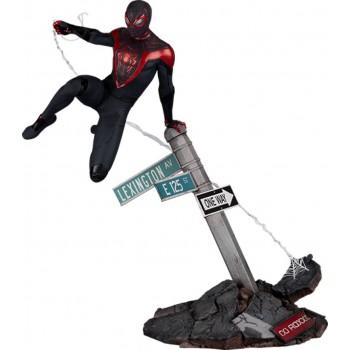 Marvel Spider-Man Miles Morales Game Miles Morales 1/6 Scale Diorama 36 cm