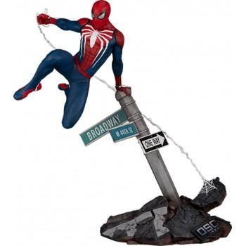 Marvel Spider-Man Miles Morales Game Spider-Man Advanced Suit 1/6 Scale Diorama 36 cm