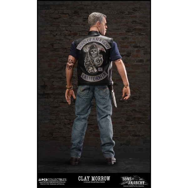 Sons Of Anarchy Clay Morrow 1 6 Scale Figure 30 Cm