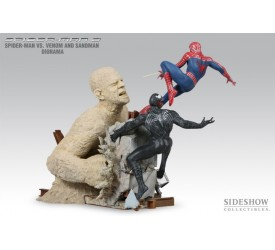 Spider-Man 3 Spider-Man vs. Venom and Sandman 14-inch Diorama