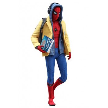 Spider-Man Homecoming Movie Masterpiece Action Figure 1/6 Spider-Man Deluxe Version 28 cm