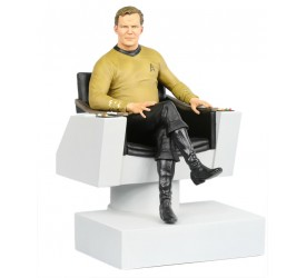 Star Trek TOS Statue James T. Kirk in Captain´s Chair 26 cm