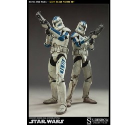 Star Wars Action Figure 2-Pack 1/6 Clone Troopers Echo and Fives 32 cm