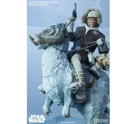 Star Wars Action Figure 1/6 Captain Han Solo Hoth and Tauntaun Deluxe set
