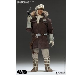Star Wars Action Figure 1/6 Captain Han Solo Hoth 30 cm