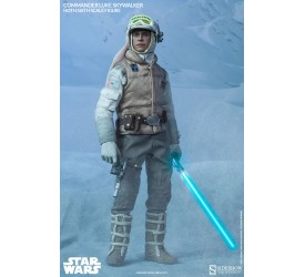 Star Wars Action Figure 1/6 Commander Luke Skywalker Hoth 30 cm