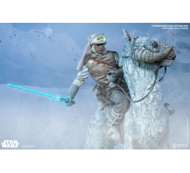 Star Wars Action Figure 1/6 Commander Luke Skywalker Hoth and Tauntaun Deluxe set