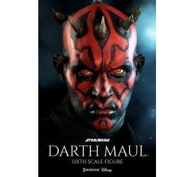 Star Wars Action Figure 1/6 Darth Maul Duel on Naboo (Episode I) 30 cm (Restock)