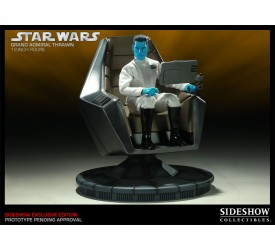 Star Wars Action Figure Grand Admiral Thrawn with Command Chair Exclusive 30 cm