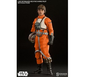 Star Wars Action Figure 1/6 Luke Skywalker Red Five X-wing Pilot 30 cm