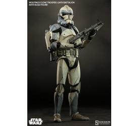 Star Wars Action Figure 1/6 Wolfpack Clone Trooper 104th Battalion 30 cm