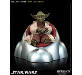 Star Wars Action Figure 1/6 Yoda Jedi Master 14 cm