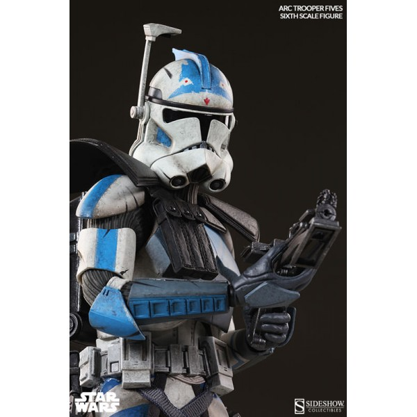 Star Wars Arc Clone Trooper Fives Phase II Armor Sixth Scale