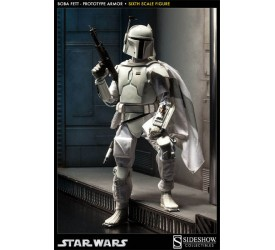 Star Wars Boba Fett Prototype Armor Supertrooper Sixth Scale Figure 31cm