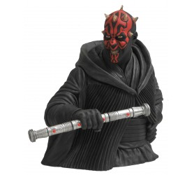 Star Wars Coin Bank Roto-Cast Darth Maul 15 cm
