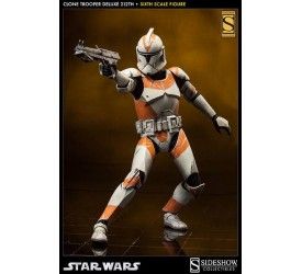Star Wars Deluxe Action Figure 1/6 212th Clone Trooper Sideshow Exclusive 32 cm