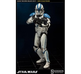 Star Wars Deluxe Action Figure 1/6 501st Clone Trooper 32 cm