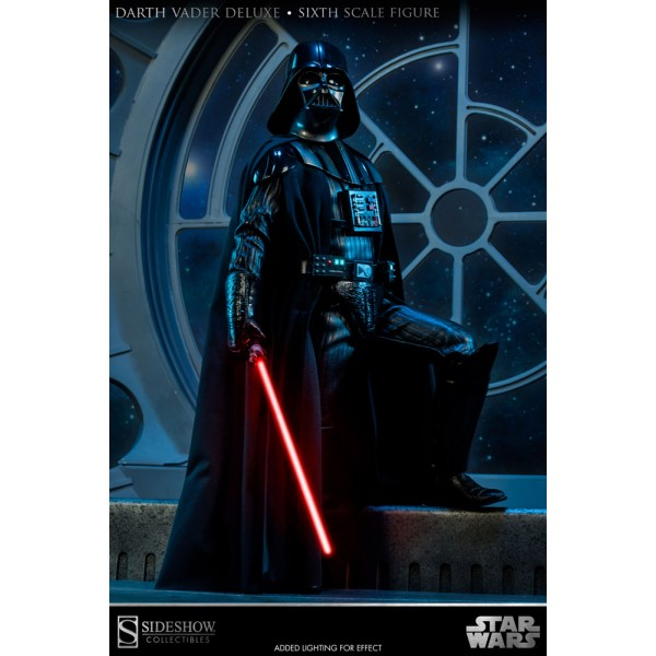 Star Wars Deluxe Action Figure 1/6 Darth Vader Episode VI ...