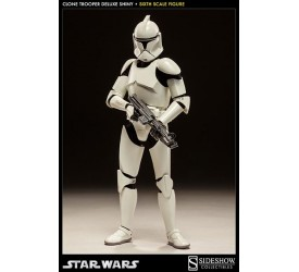 Star Wars Deluxe Action Figure 1/6 Shiny Clone Trooper 32 cm