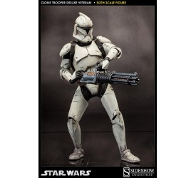 Star Wars Deluxe Action Figure 1/6 Veteran Clone Trooper 32 cm