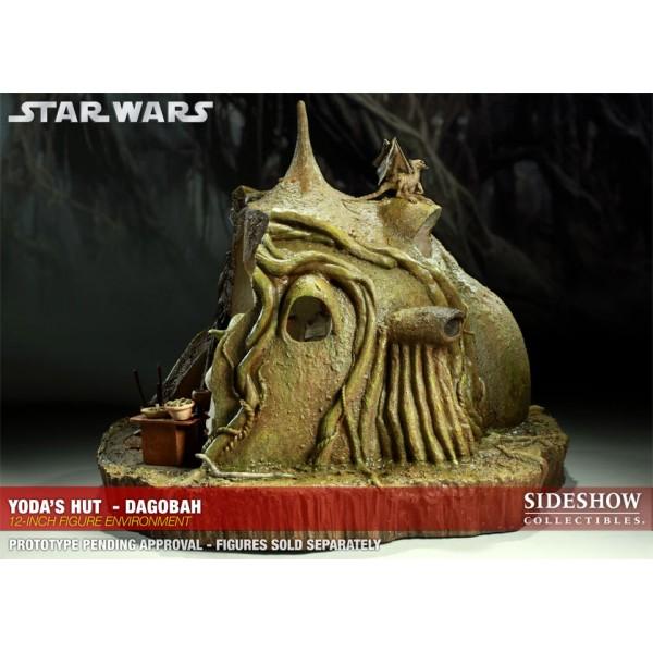 Deal With The Hutt: Star Wars Diorama 1/6 Yoda´s Dagobah Hut