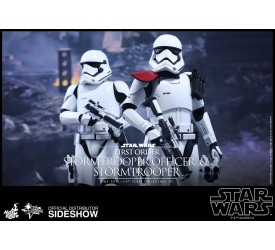 Star Wars Episode VII MMS Action Figure 2-Pack 1/6 First Order Stormtrooper and FOS Officer 30 cm
