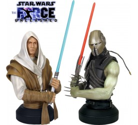 Star Wars Force Unleashed Starkiller 2-Pack Busts Exclusive