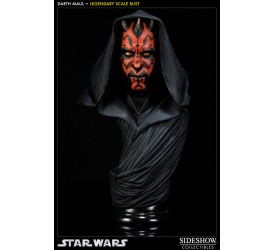 Star Wars Legendary Scale Bust 1/2 Darth Maul 43 cm