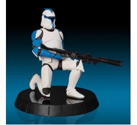 Star Wars Maquette Blue Clone Trooper Lieutenant SW Celebration VI 2012 Exclusive