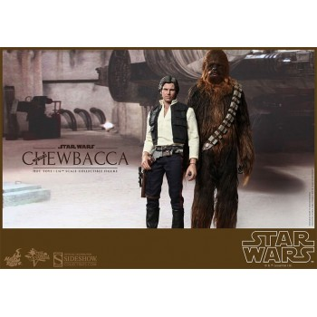 Star Wars Movie Masterpiece Action Figure 2-Pack 1/6 Han Solo and Chewbacca