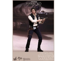 Star Wars Movie Masterpiece Action Figure 1/6 Han Solo 30 cm (Reproduction)