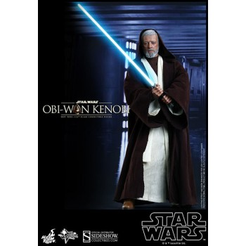 Star Wars Movie Masterpiece Action Figure 1/6 Obi-Wan Kenobi 30 cm (Reproduction)