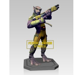Star Wars Rebels Zeb Maquette