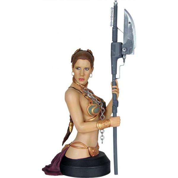 Star Wars Slave Leia In Metal Bikini Bust
