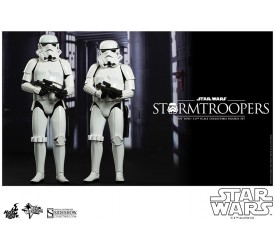 Star Wars Stormtroopers Sixth Scale Figure Set 30 cm