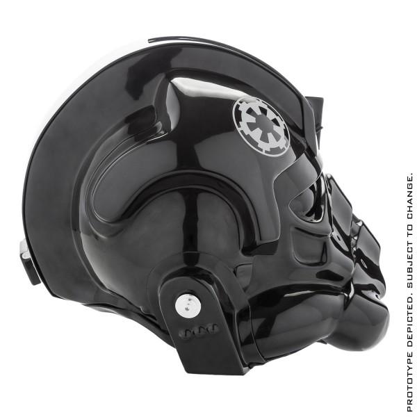 Star Wars TIE Fighter Pilot Standard Helmet Prop Replica Tie Fighter Pilot Helmet