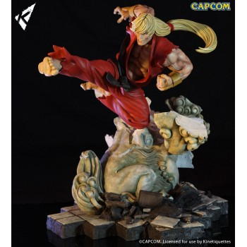 Street Fighter Battle of the Brothers Diorama 1/6 Ken Masters 45 cm
