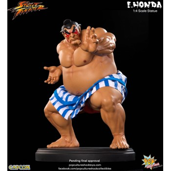 Street Fighter E-Honda 1/4 Scale Statue 38 cm