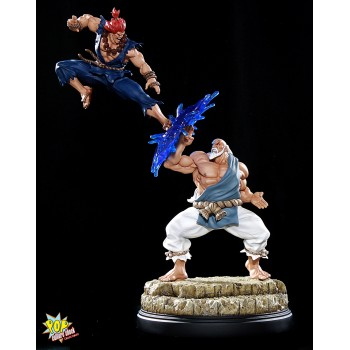 Street Fighter Gouken vs Akuma Diorama