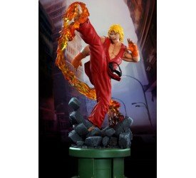 Street Fighter IV Ken Dragon Flame Regular 1/4 scale Statue 63 cm